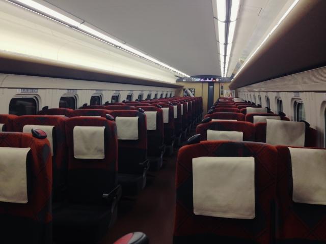 E7系座席
