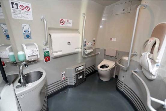 新幹線トイレ